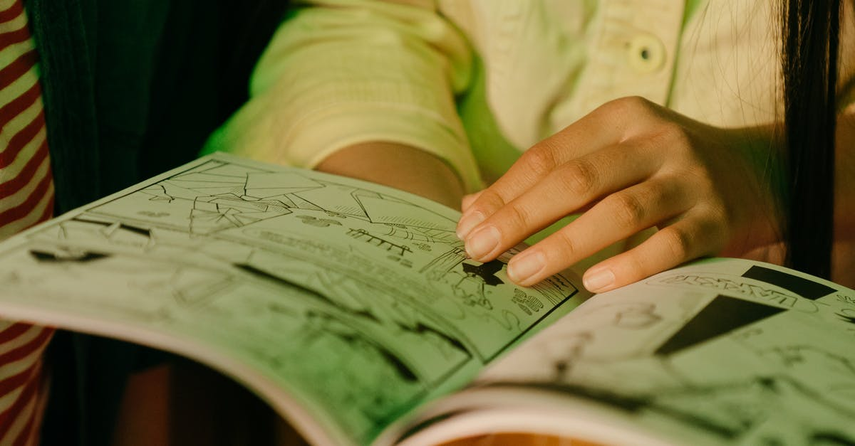 A close up of a hand holding a book